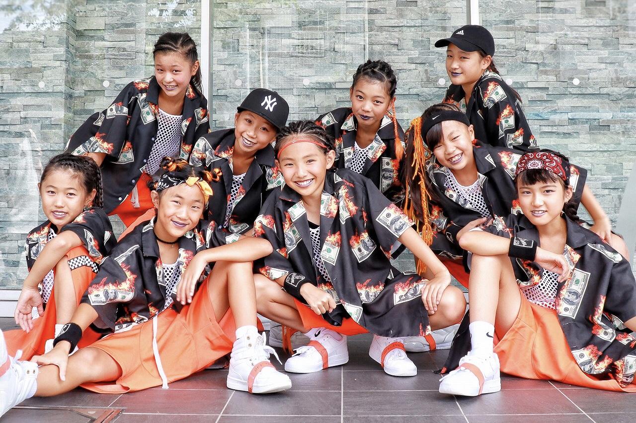 ダンスチームOFF THE HOOKのアイキャッチ画像