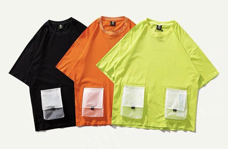 マルチポケットカラーTシャツの画像