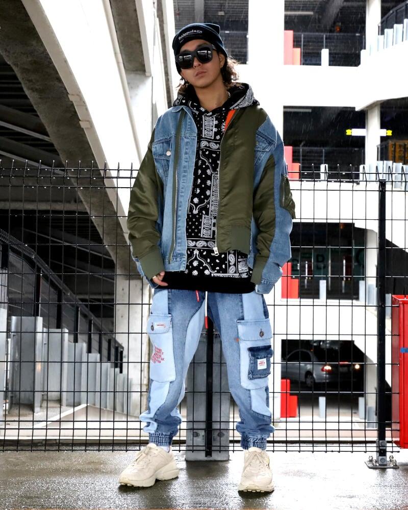 メンズ ファッション ストリート 系