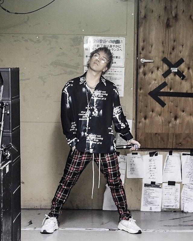 Brand New Vibes 敬太郎 × PCTOKYO 着用写真202002-12