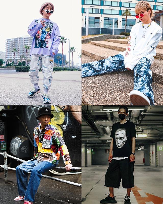 【メンズ着こなし】ストリートファッションのサイズ感やカラーとは画像8